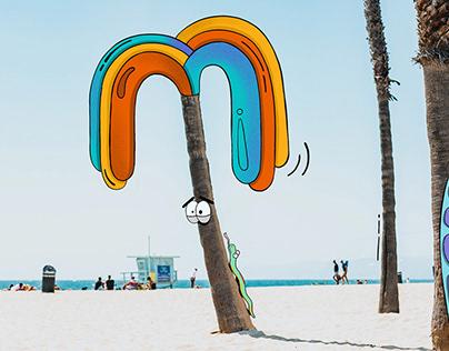 Beach Snake