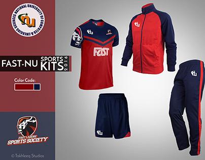Sports Kit Design - FAST NU Lahore
