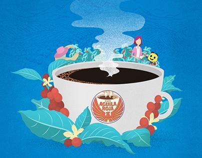 100% NATURAL - Café Águila Roja