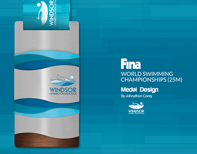 Fina Medal Design - World Swimming Championships 25m