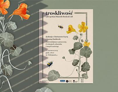 new poster for Massolit Books&Cafe
