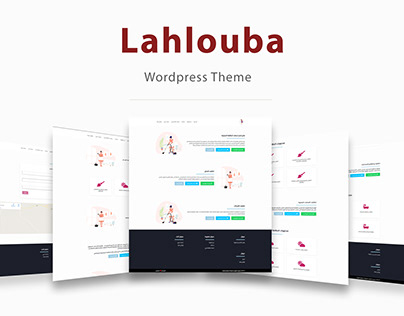 Lahlouba - Wordpress Theme