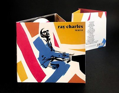 RAY CHARLES - THE BEST OF - Music Artwork