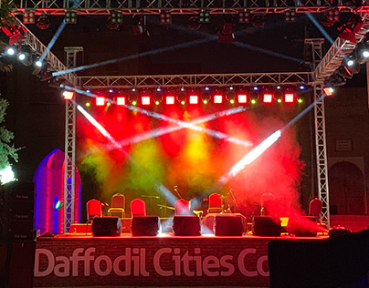 Daffodil Cities Concert Lighting Design