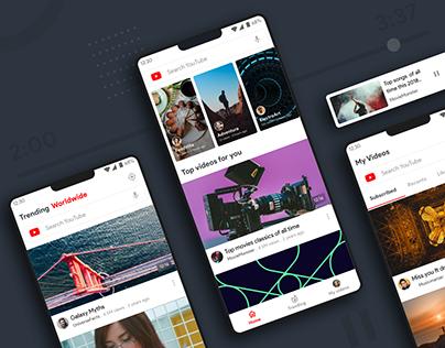 Case study on simplifying Youtube