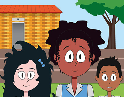 Thandi's first day of school - A picture book