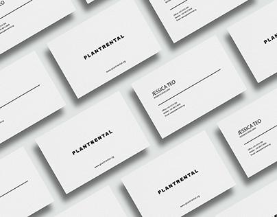 Plantrental.sg - Branding