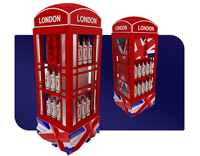 Beefeater London - Stand and Packaging Design