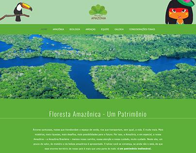 Site - Projeto Amazônia