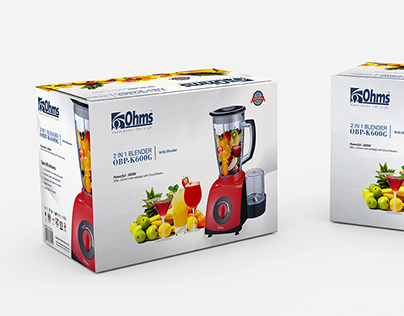 OHMS - Product Packaging Design