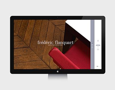 FRÉDÉRIC FLANQUART - Website