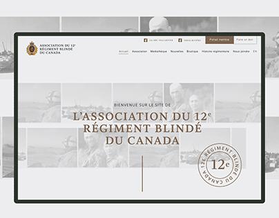 12e Régiment blindé du Canada