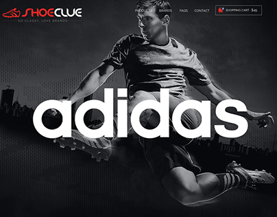 ShoeClue- ECommerce Website Design Case Study