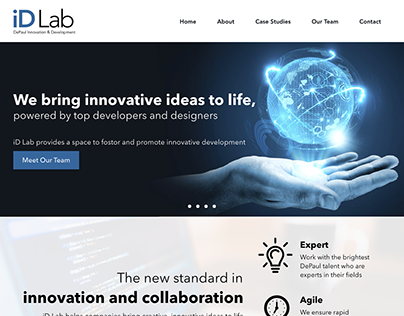 DePaul iD Lab Website Redesign
