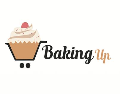 Baking Up - logo