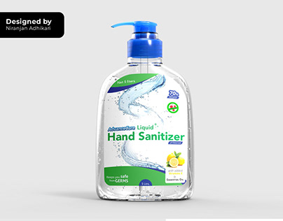 Label Design (Advance care hand sanitizer)