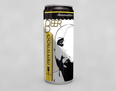 Packaging label Aromatic Beer Coffee