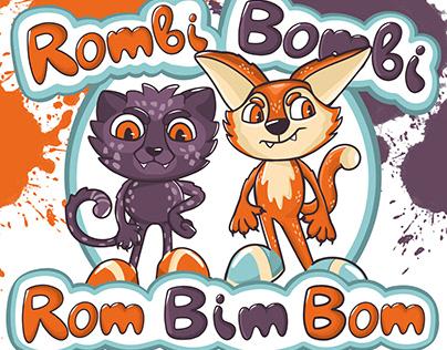 Rombi&Bombi - character design