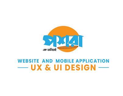 Gig Workers Platform WEB & Mobile app UX/UI Design.
