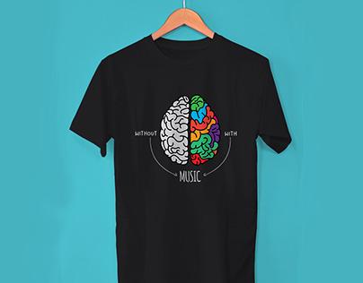 Music T Shirts Design