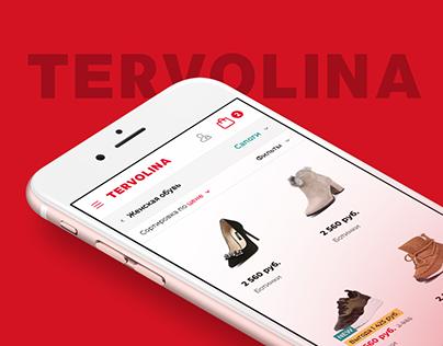 Tervolina Website
