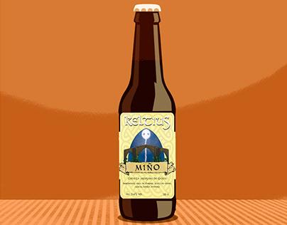 Beer labels /Etiquetas para cervezas