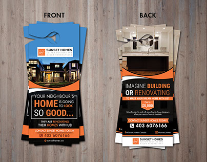 Newcastel Home Staging Flyer On Behance