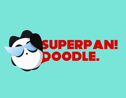 """Superpan"" Doodle"
