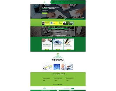 Greenback Taxes Website Design Proposal