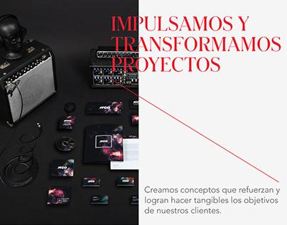 Diseño de Marca para Agencia RICO