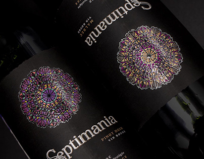 Septimania wine branding