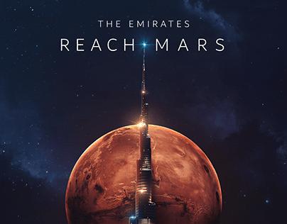 The Emirates Mars Mission Artwork