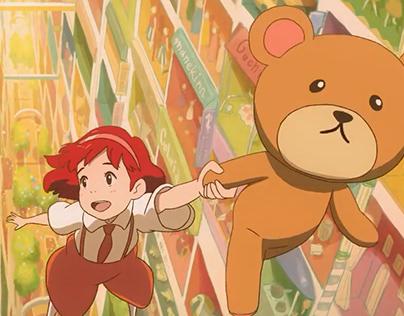 2d animation - control bear short film
