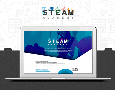 STEAM Academy Landing Page