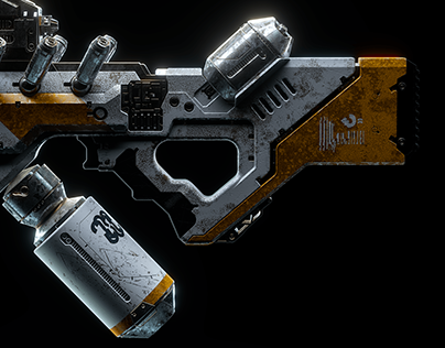 ▼▲ Once In A While Renders № 42 District 9 Alien Rifle