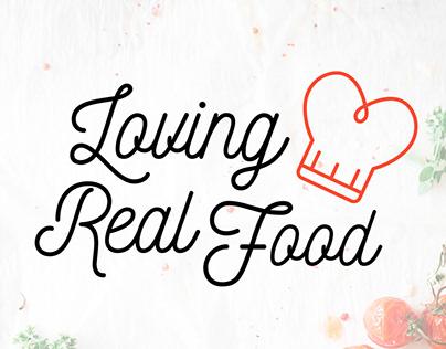 Logo Loving Real Food