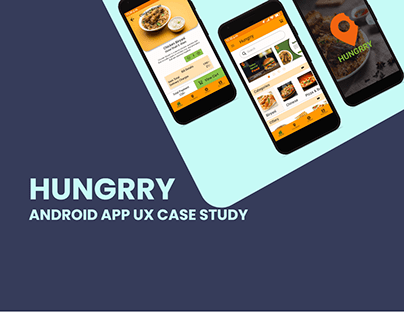 hungrry app android ux
