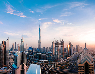 Beautiful Dubai Sunset