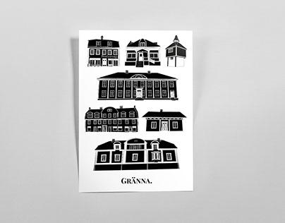 Gränna - Poster