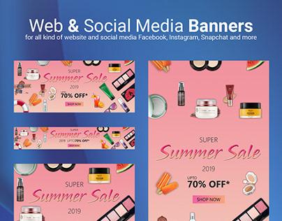 Web & Social Media Banners