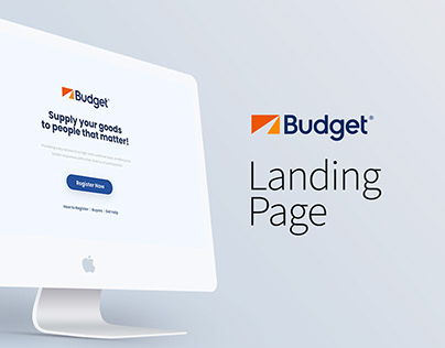 Landing Page for Budget