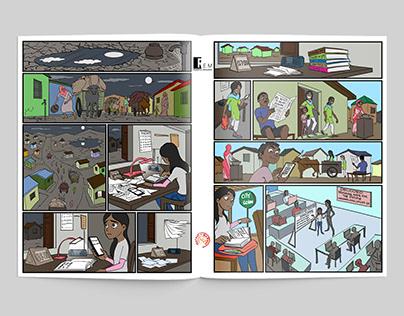 The Graphic Novel Maya's Web