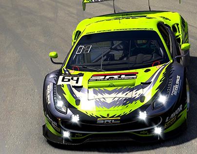 SRC Squadra Corse Liveries - Ferrari 488 GTE & GT3