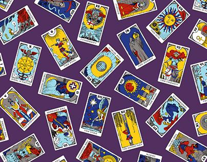 Major Arcana Tarot Card Illustrations