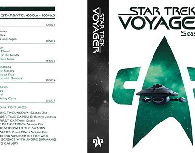 Voyager DVD Cover Redesign