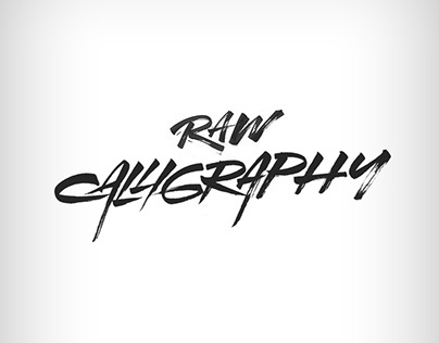 Raw Calligraphy by Gilles.K