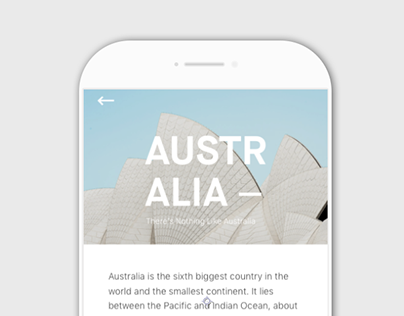 Daily UI#000 - 3 Countries I Love Most