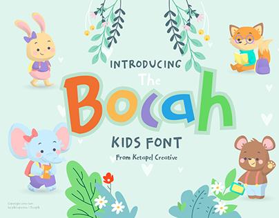 The Bocah Font