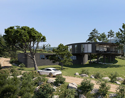 Caruz House Architectural Visualization