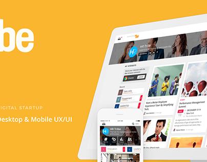 #be mobile and desktop UI/UX design